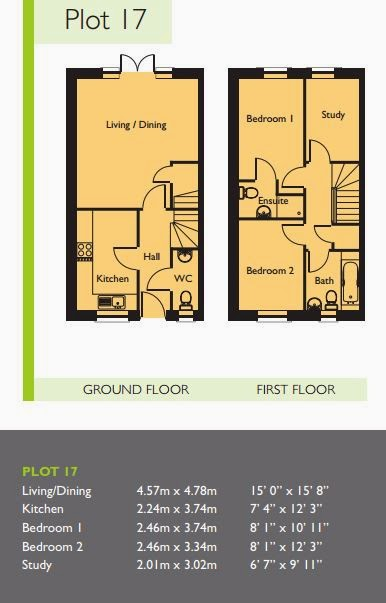 the oaks chichester buy-to-let floorplan