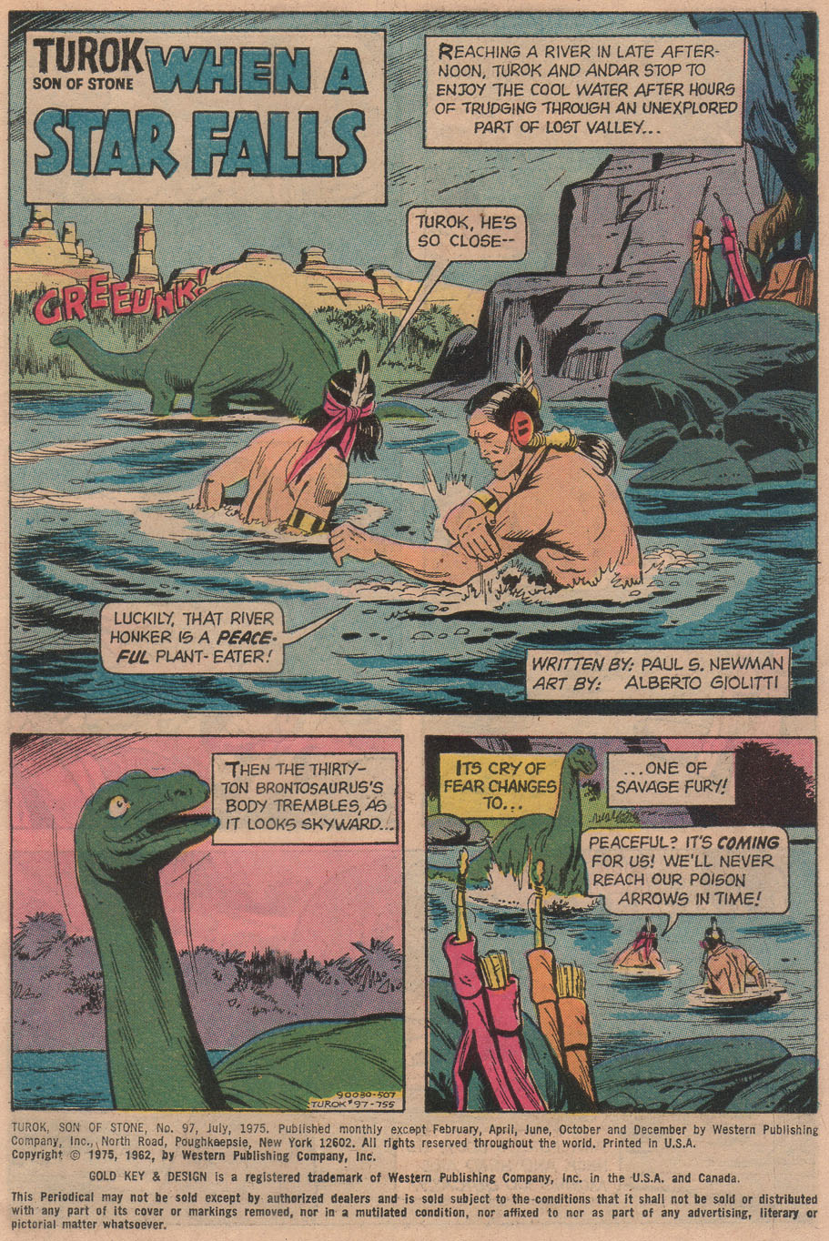 Read online Turok, Son of Stone comic -  Issue #97 - 3
