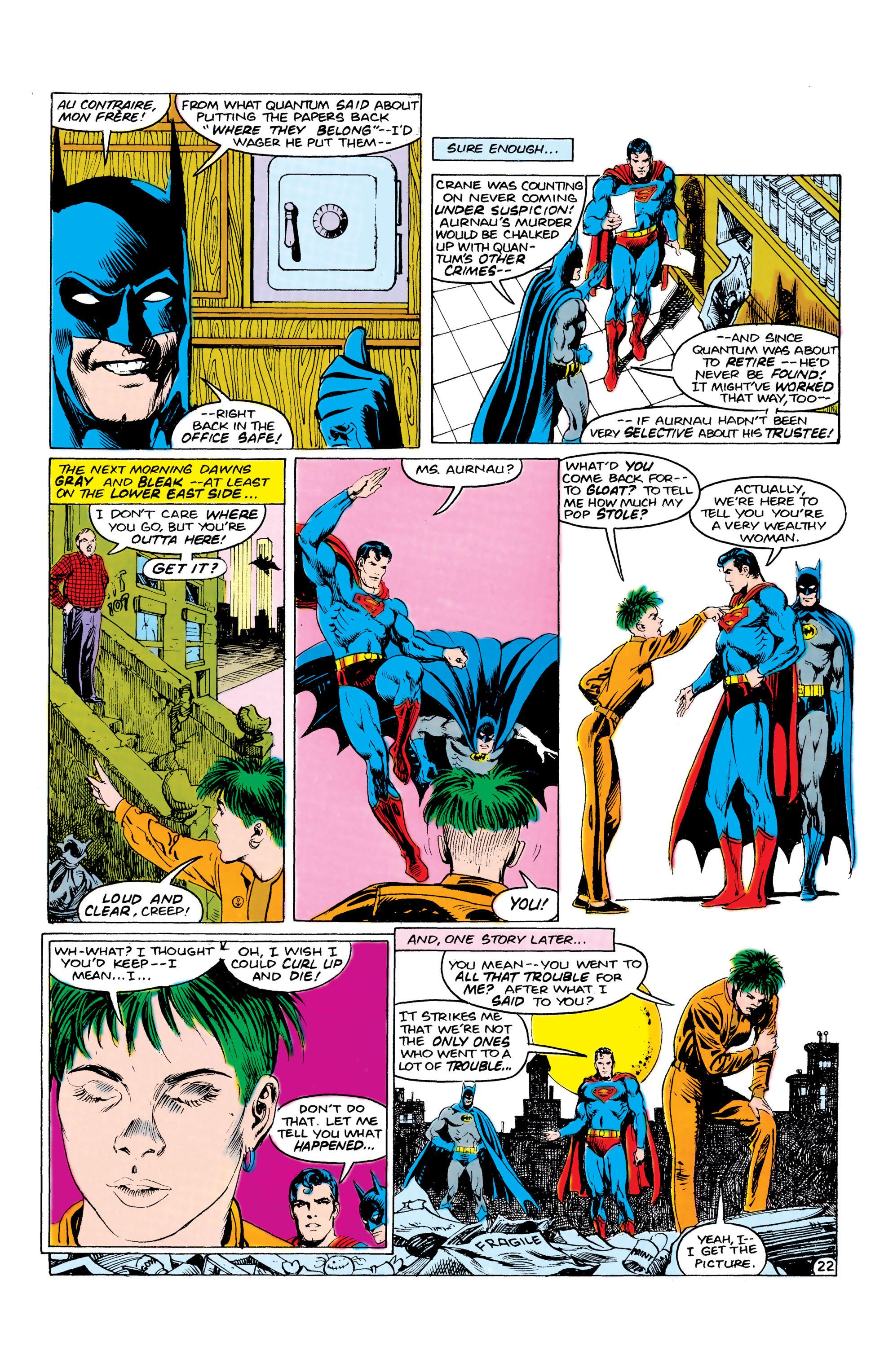 Read online World's Finest Comics comic -  Issue #309 - 23