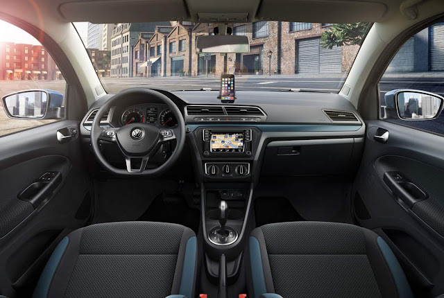 Novo VW Gol 2017 Connect - interior
