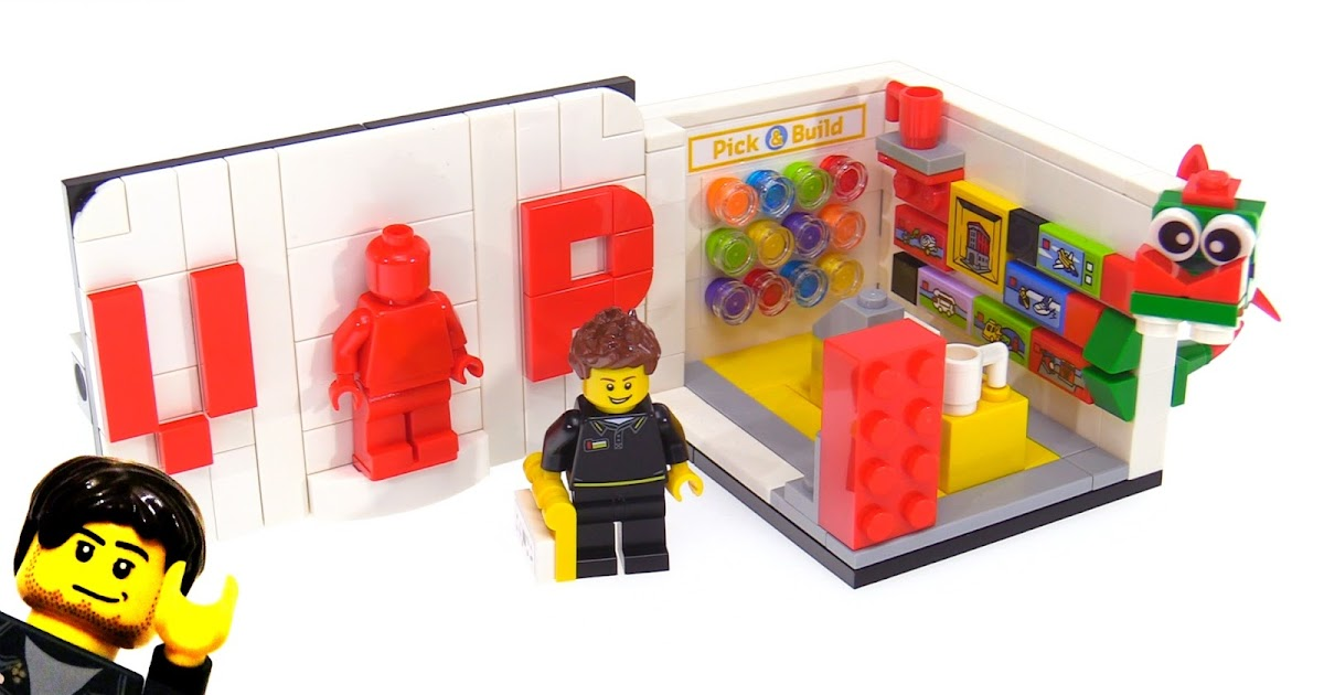 LEGO October 2017 VIP exclusive promotional polybag review! 40178