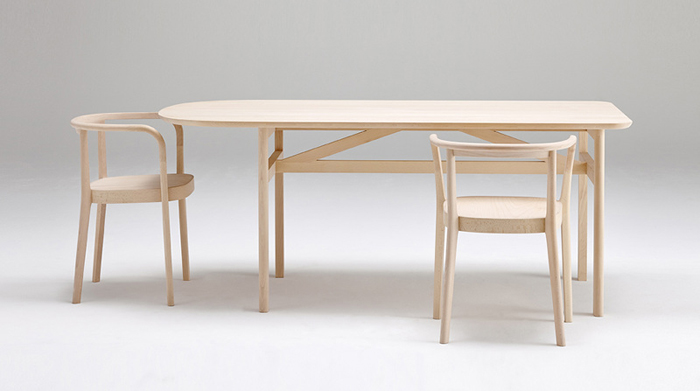 Cecilie Manz design for Actus Store , collaboration called Moku