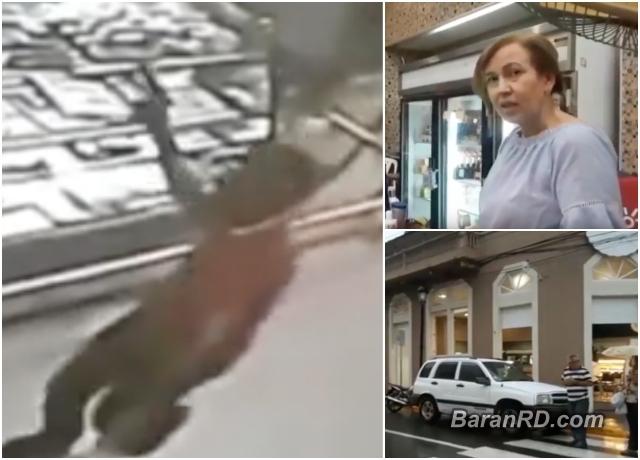 Video: Asaltan la panadería Sarnelli en Santiago