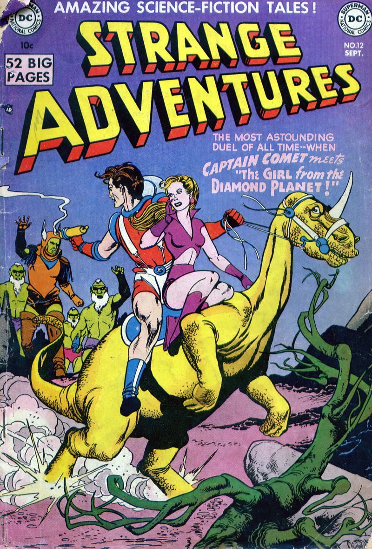 Strange Adventures (1950) issue 12 - Page 1