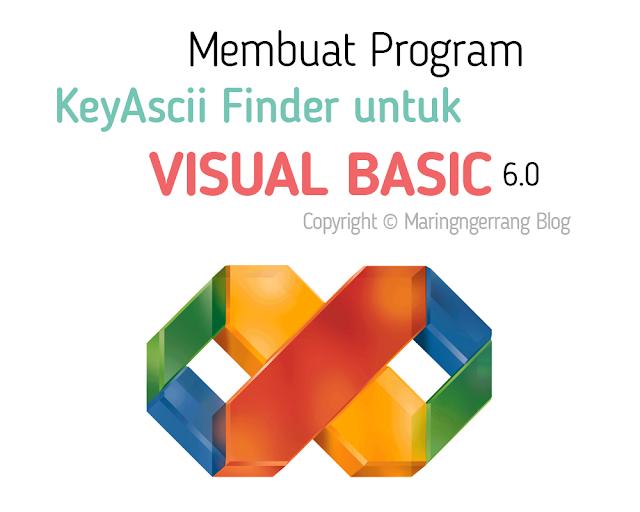 Cara Mengetahui Semua Kode KeyAscii Visual Basic 6.0