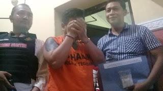 Pendeta Bertato ditangkap Usai kedapatan Bawa Sabu seberat 51 gram
