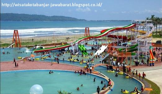 Objek Wisata Pangandaran Waterpark Terbaru