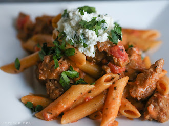 Sausage and Penne with Creamy Tomato Sauce