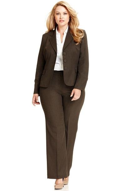 model baju kantor wanita gemuk