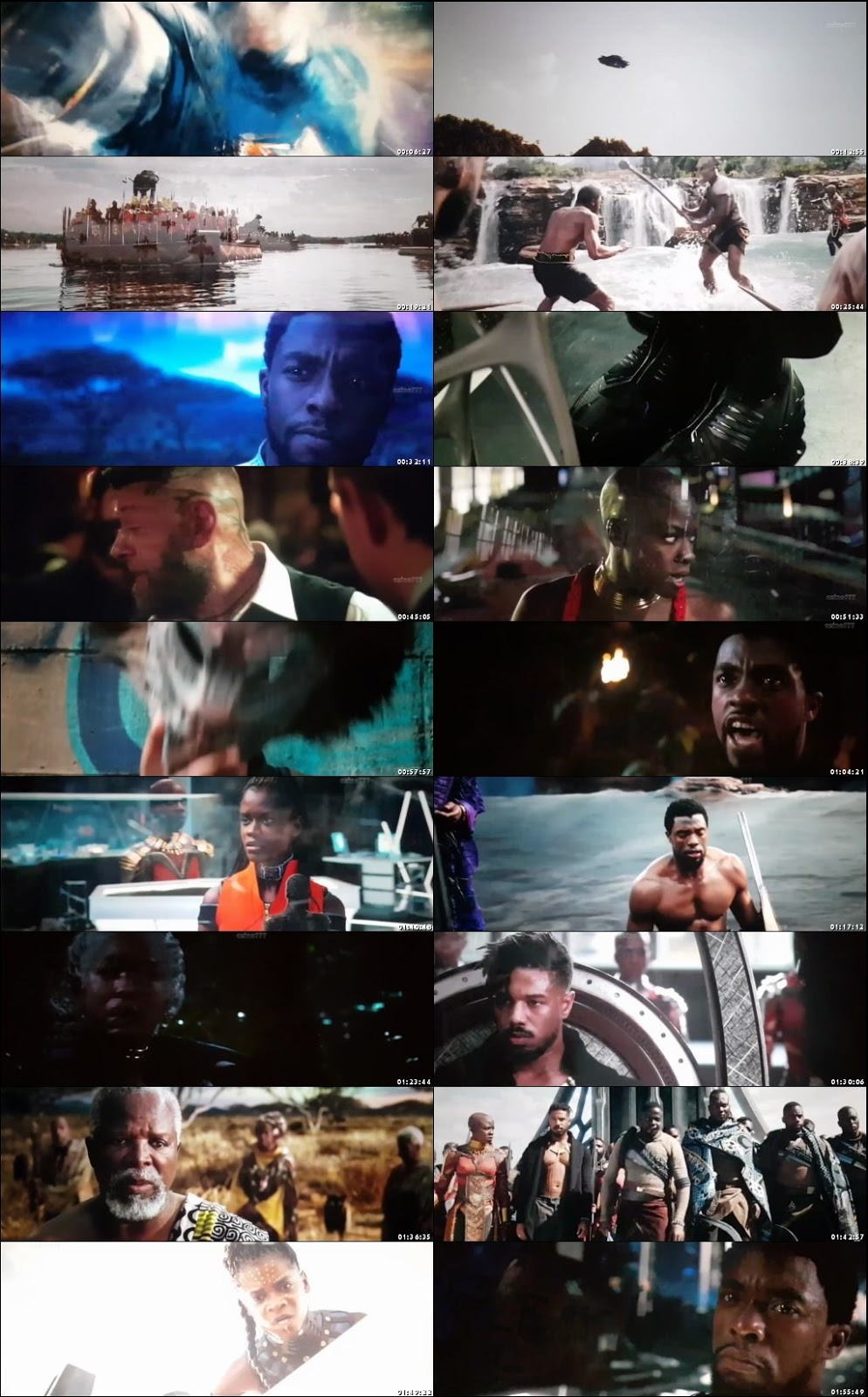 Black Panther 2018 Full Movie Download In Hindi Dubbed 720p HDTS 889MB