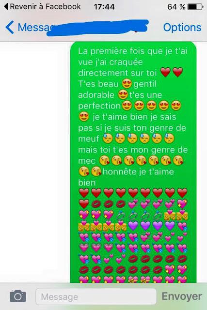 sms pour sa copine