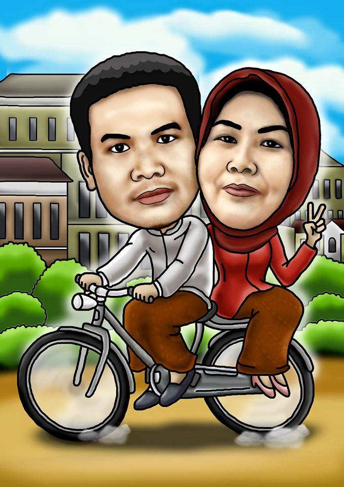 Fantastis 13+ Gambar Kartun Naik Sepeda - Gani Gambar