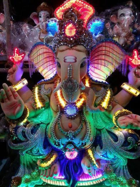 High quality Ganeshji wallpaper मोबाइल फोन को लागी भगवान गणेश फोटो