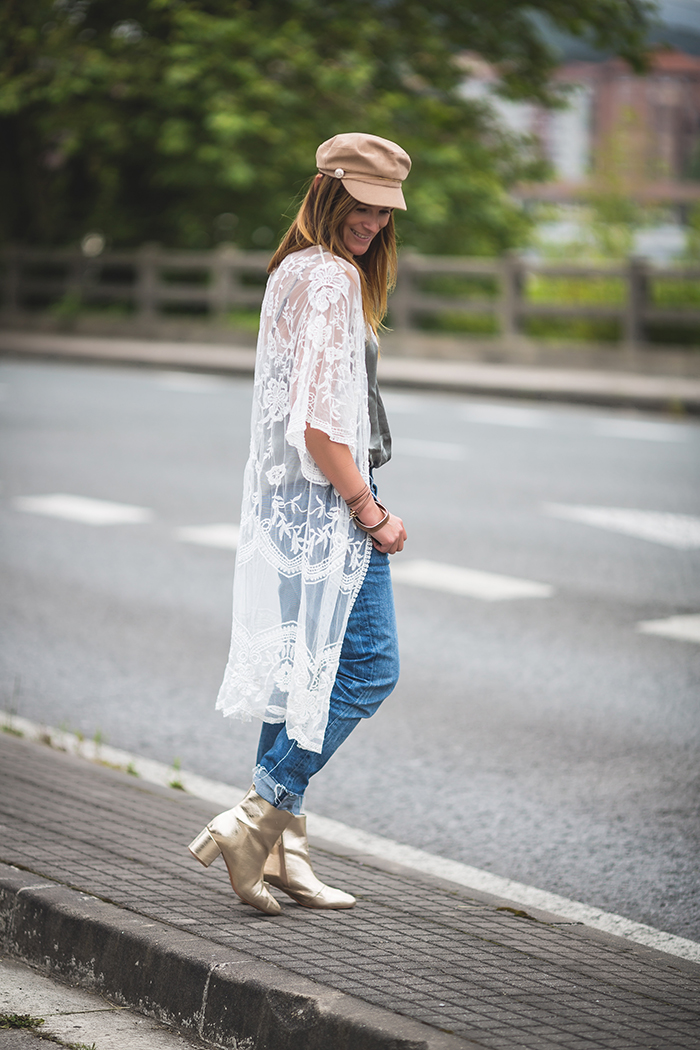 Kimono Bordado,Lucía Díez,San Sebastián , The Amity Company ,Personal Shopper.Es cuestion de estilo .