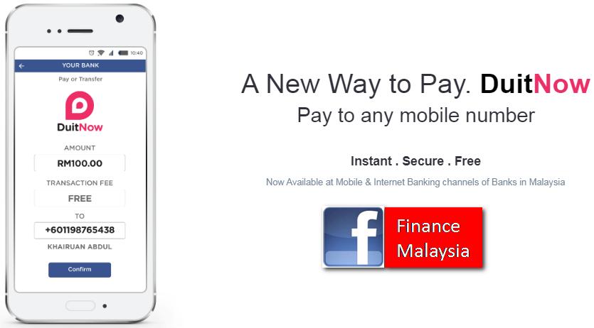 Finance Malaysia Blogspot: A New Way of Transferring Money