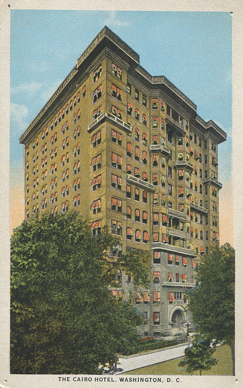 Old Postcard Of The Cairo Apartment Hotel Hotels Catered To Both Permanent And Transient Guests With Apartments Ranging From Sized