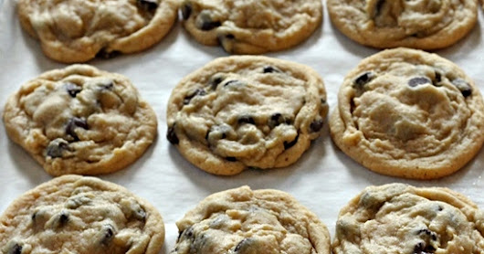 My Favorite Soft Chocolate Chip Cookies