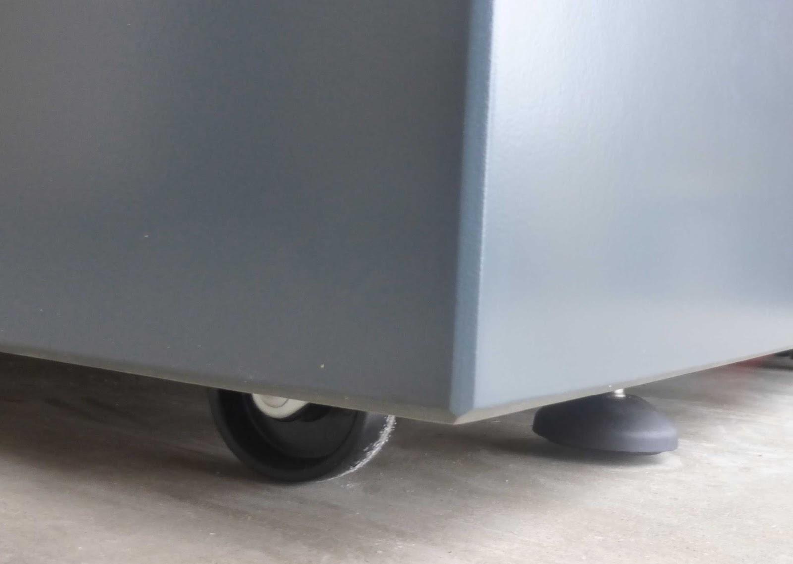 Jardiniere sur mesure IMAGE\'IN Roulettes avec frein par pied ...