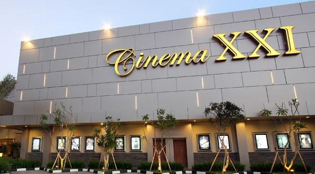 daftar alamat Bioskop Eksklusif Cineplex XXI di Jakarta