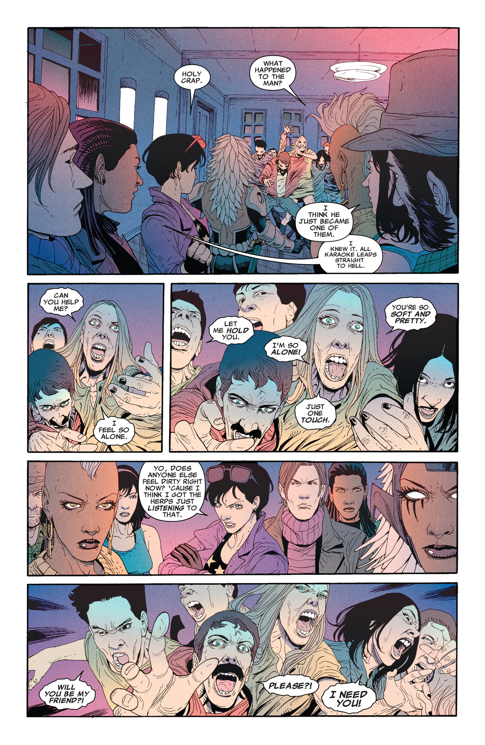 Read online Astonishing X-Men (2004) comic -  Issue #66 - 12