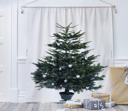 Árvore de Natal econômica
