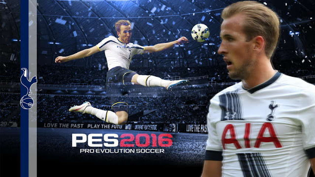 PES 2016 Harry Kane Start Screen