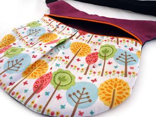 pochette ceinture originale fait main et coloré