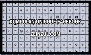 """""""kumpulan unicode fb"""""""