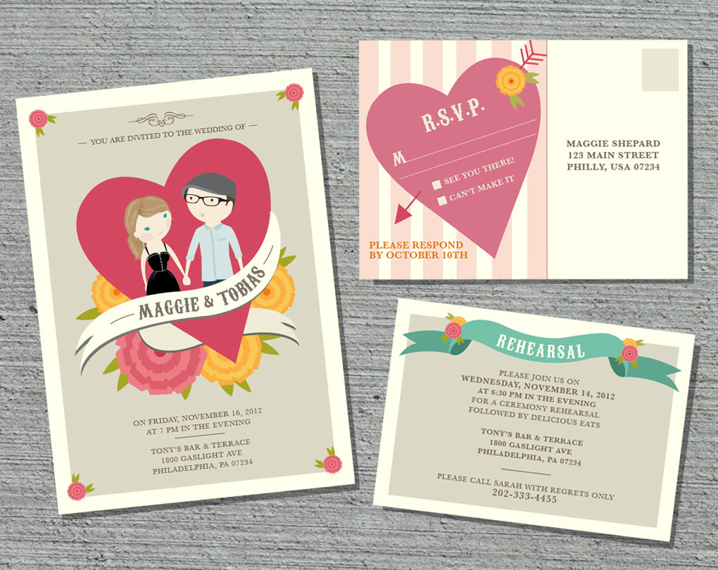 20 Contoh Undangan Pernikahan Unik | Design Corel