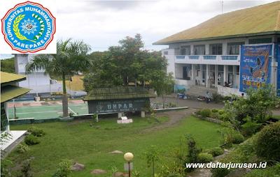 Daftar Fakultas dan Program Studi UMPAR Universitas Muhammadiyah Parepare