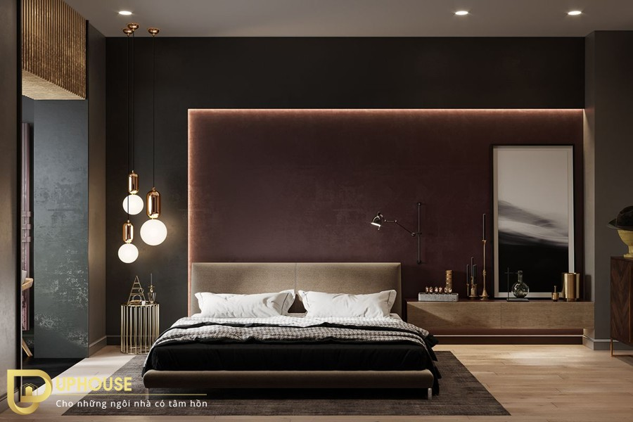 Cách đặt gương trong phòng ngủ họp phong thủy 01