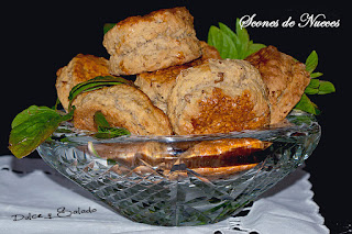 Scones de Nueces