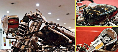 Modifikasi Motor Naga Lima