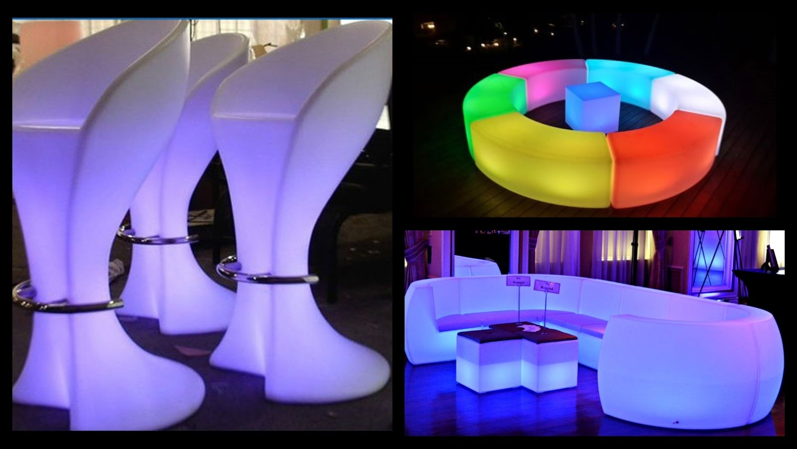 Glow Furniture Led Furniture And Decor Toronto Rentals June 2016