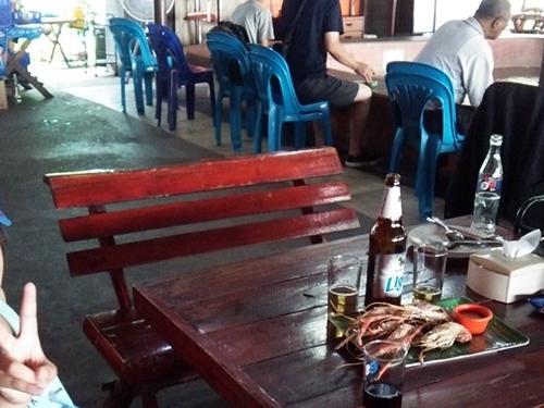 ローカルの遊び場☆海老を釣ってその場で調理してもらえる釣り堀にいってみた☆彡Prawn Fishing - BKK