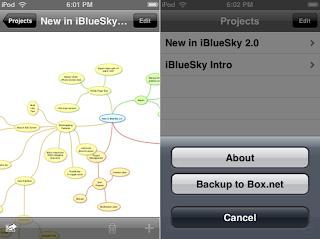 iBlue Sky Mobile App