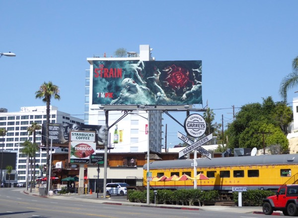 Strain final season billboard