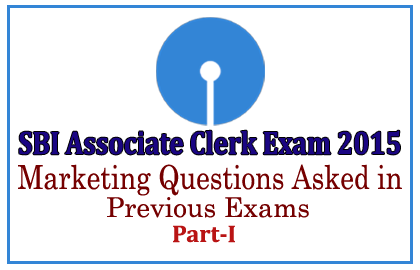 Questions asked in Previous SBI Associate Clerk Exams