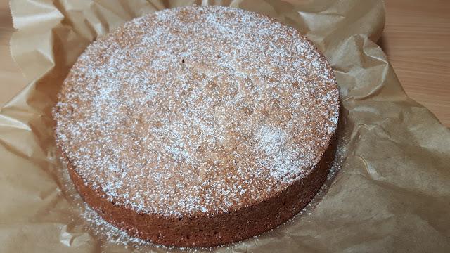 Mandelkuchen aus Mallorca- ohne Mehl gebacken