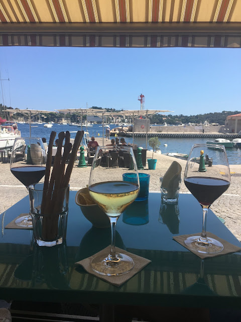 Wine Pier, Villefranche-sur-Mer, France