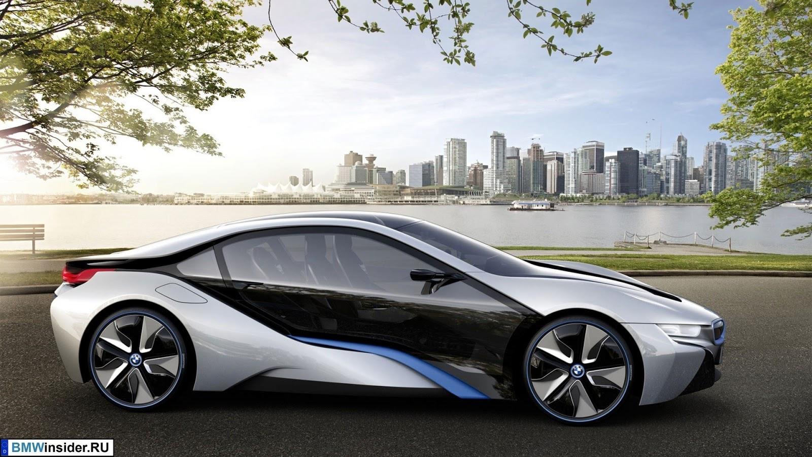 новый BMW i8