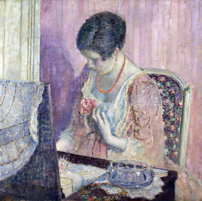 art artists frederick carl frieseke part 3. Black Bedroom Furniture Sets. Home Design Ideas