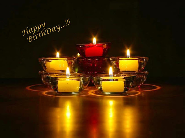 many-many-happy-birth-day-candle-light