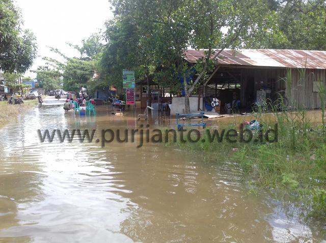 Banjir di Sangatta