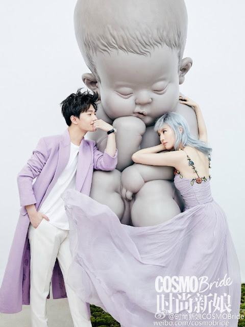 Crystal Liu and Yang Yang