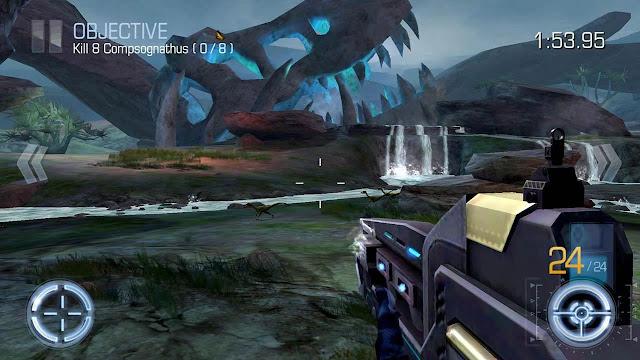 تحميل لعبة Dino Hunter Deadly Shores مهكرة للأندرويد اخر اصدار
