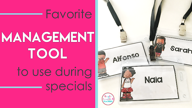 These editable student name tags are great to use during special classes.