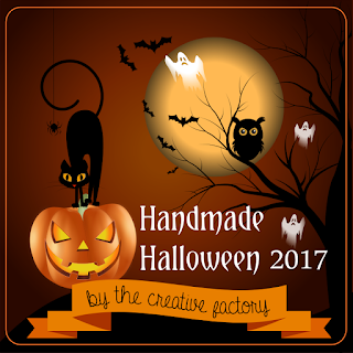 Decorazioni in gesso per Halloween - banner TCF - My Little Inspirations