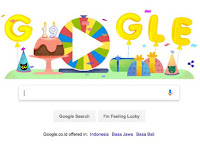 19 Dishes on Google Birthday Surprise Spinner