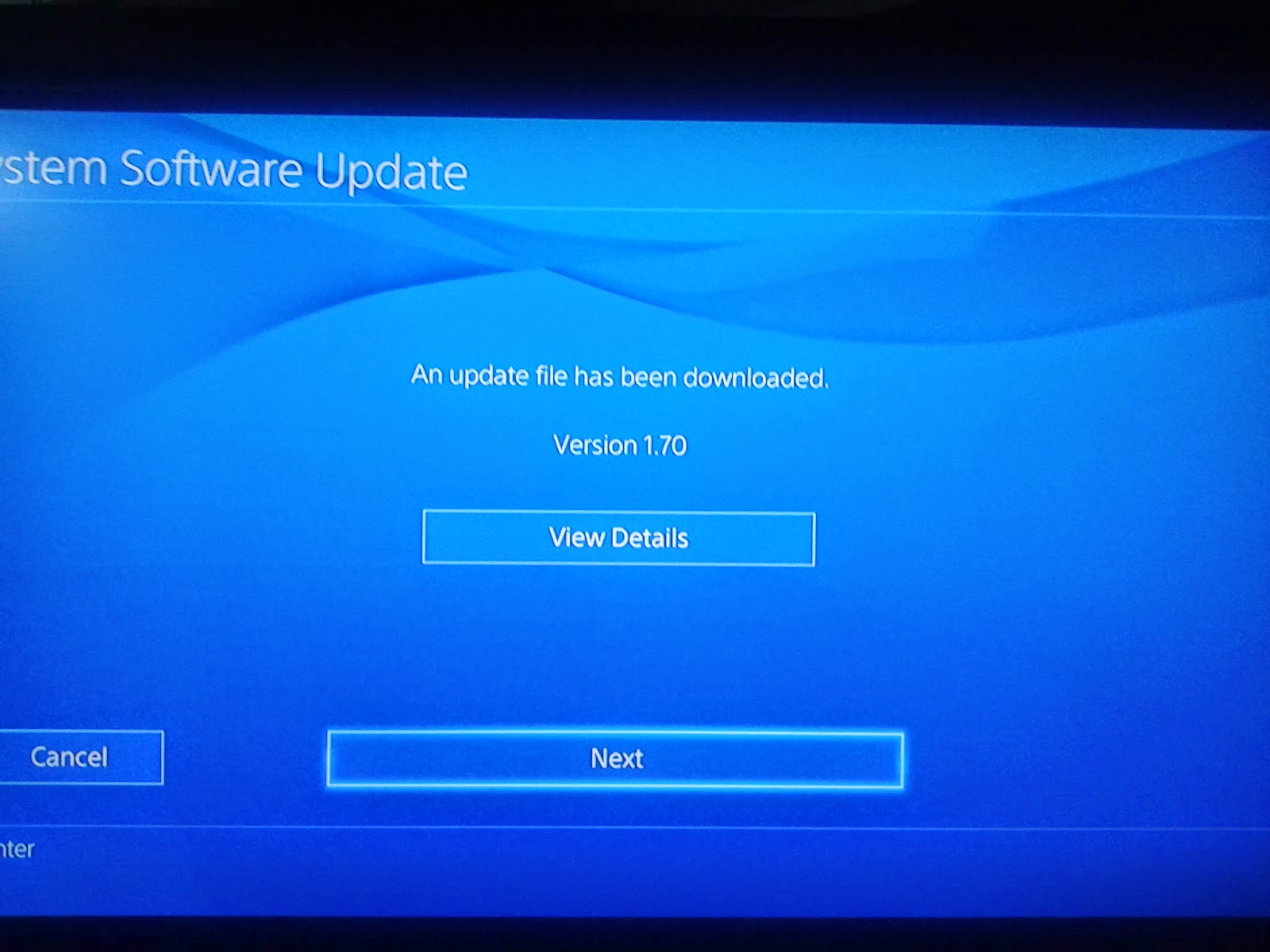 PS4VITANEWS: PS4 Update 1 70 is now live